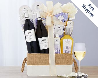Hobson Estate Lavender Vanilla Spa Gift FREE SHIPPING