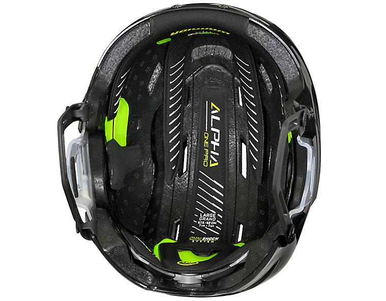 Alpha One Pro Helmet, Black image number 2
