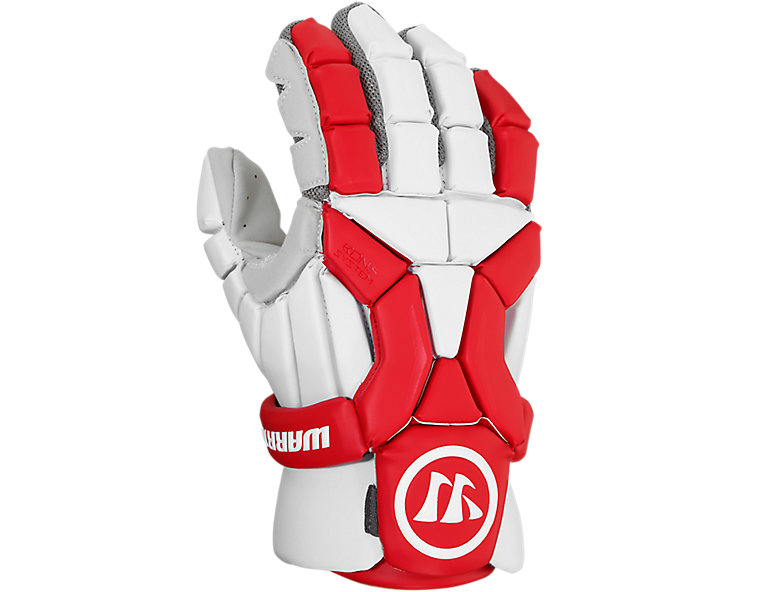 Burn Glove 2020, White with Red image number 2