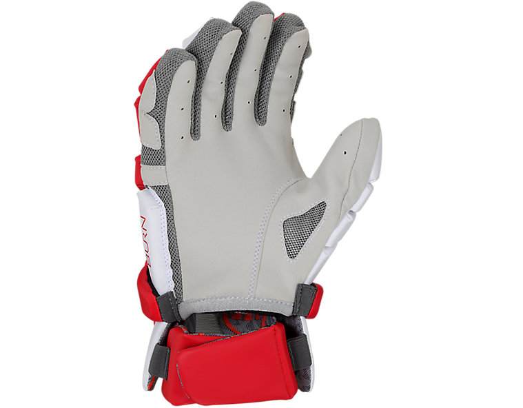 Burn Glove 2020, White with Red image number 1