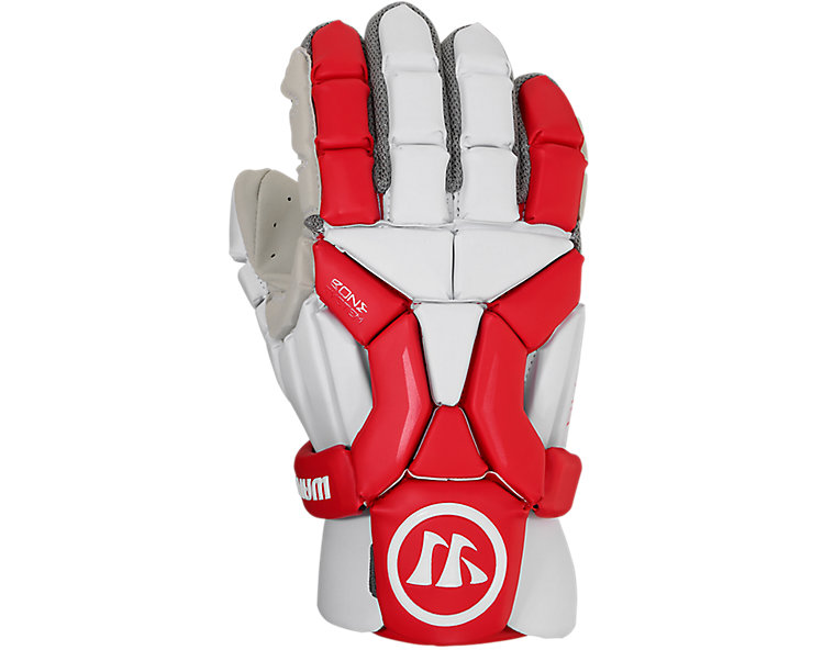 Burn Glove 2020, White with Red image number 0