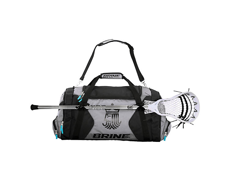 Expedition Duffle, Black with Grey image number 0