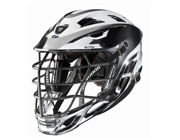 Custom Chrome Burn Helmet,  image number 0