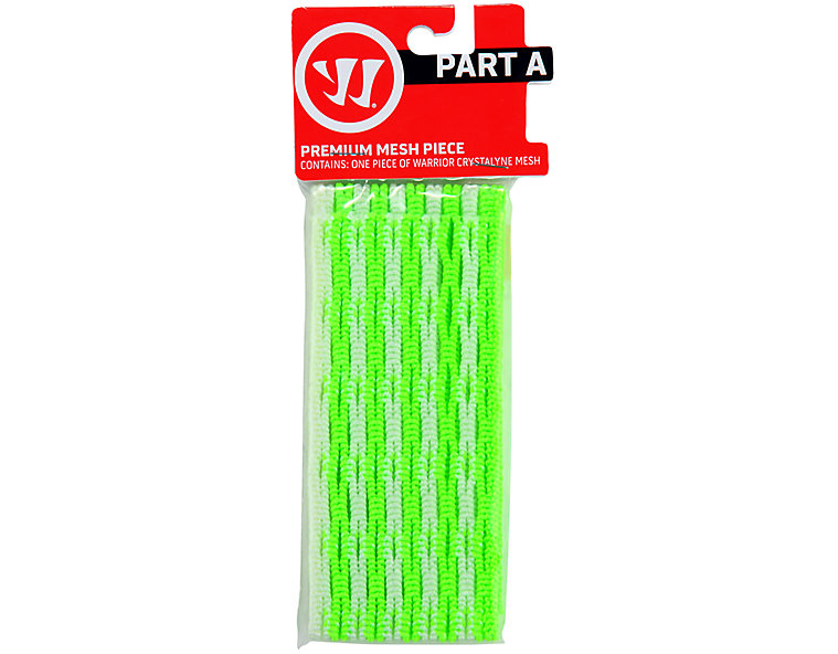 Crystalline mesh, Neon Green with White image number 0