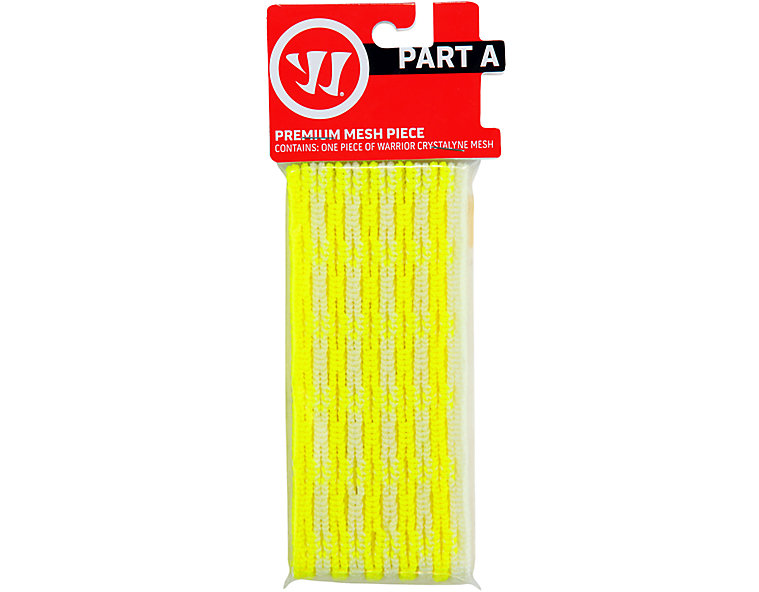 Crystalline mesh, Neon Yellow with White image number 0