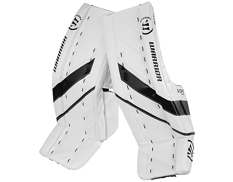 G4 Pro Leg Pad, White with Black image number 0