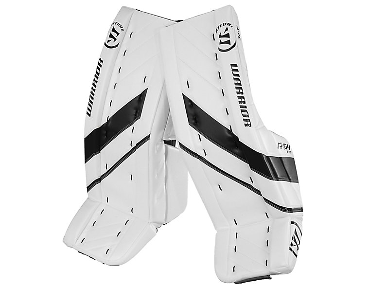 G4 INT Leg Pad, White with Black image number 0