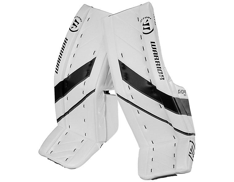 G4 SR Leg Pad, White with Black image number 0