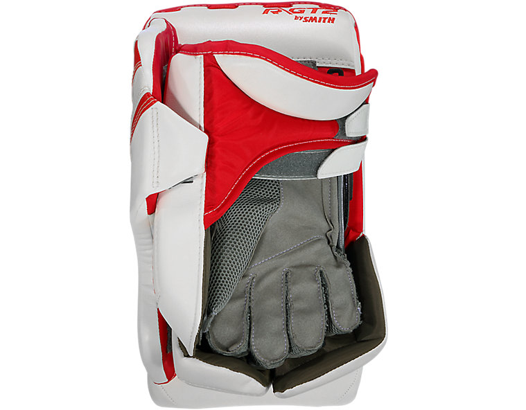 GT2 INT Blocker, White with Red image number 1