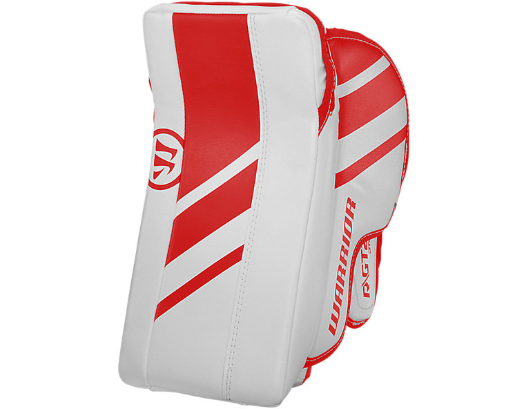 GT2 JR Blocker, White with Red image number 0