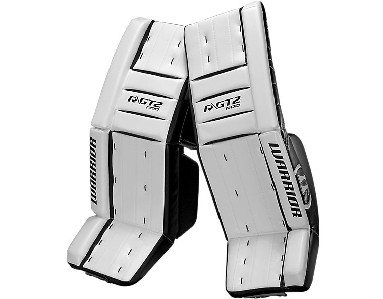 GT2 Pro Classic Leg Pad, White with Black image number 0