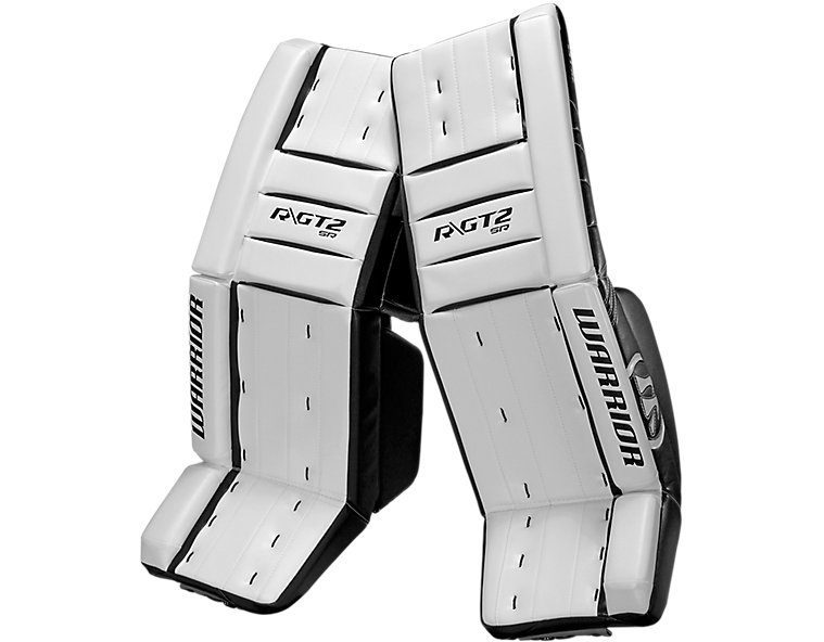 GT2 SR Classic Leg Pad, White with Black image number 0