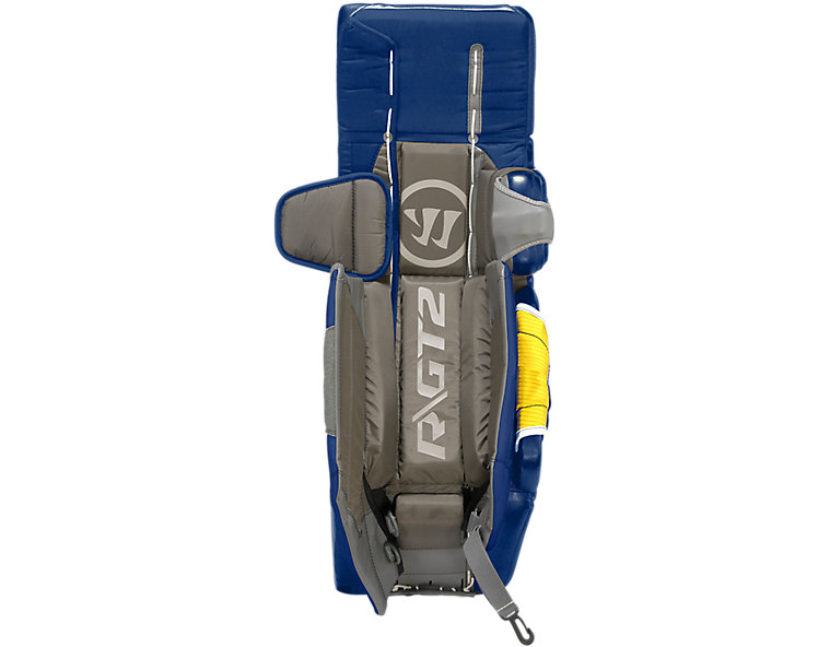 GT2 SR Classic Leg Pad, White with Royal Blue image number 1