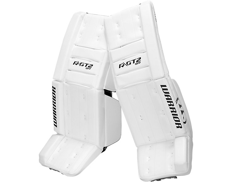 GT2 SR Classic Leg Pad, White with White & White image number 0