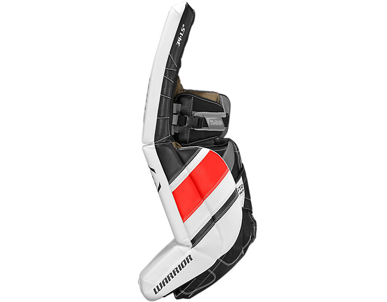 GT2 Pro Leg Pad, White with Black & Red image number 2