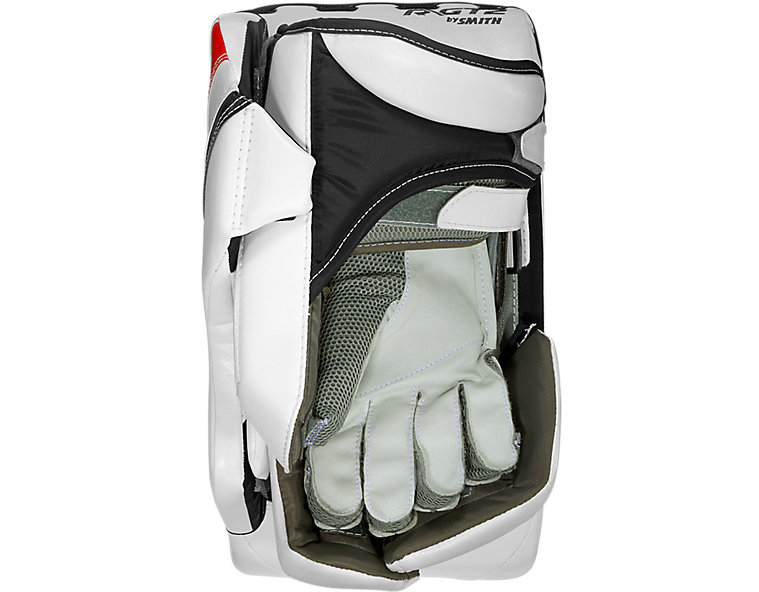 GT2 Pro Blocker, White with Black & Red image number 1