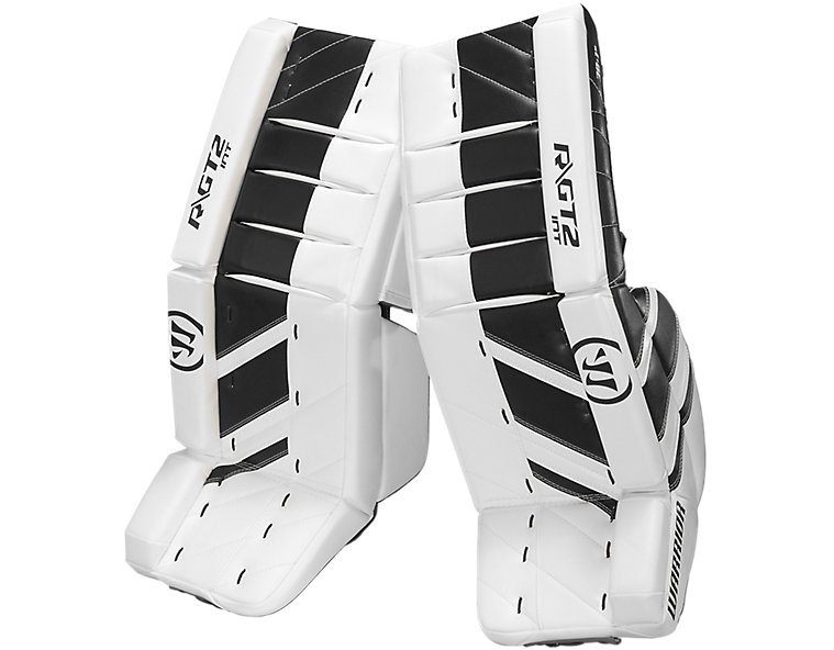 GT2 INT Leg Pad, White with Black image number 0
