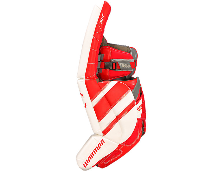GT2 INT Leg Pad, White with Red image number 1