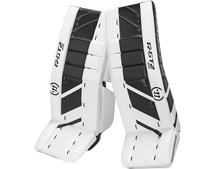 GT2 JR Leg Pad, White with Black image number 0