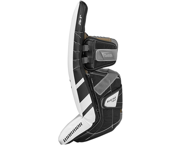 GT2 JR Leg Pad, White with Black image number 3