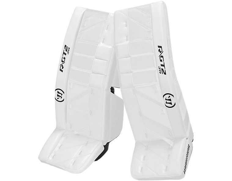 GT2 JR Leg Pad, White with White & White image number 0