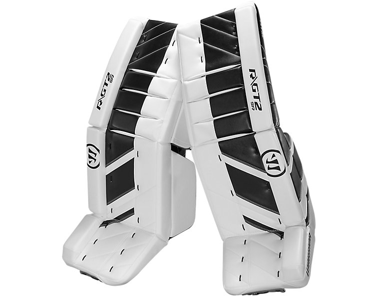 GT2 SR Leg Pad, White with Black image number 0