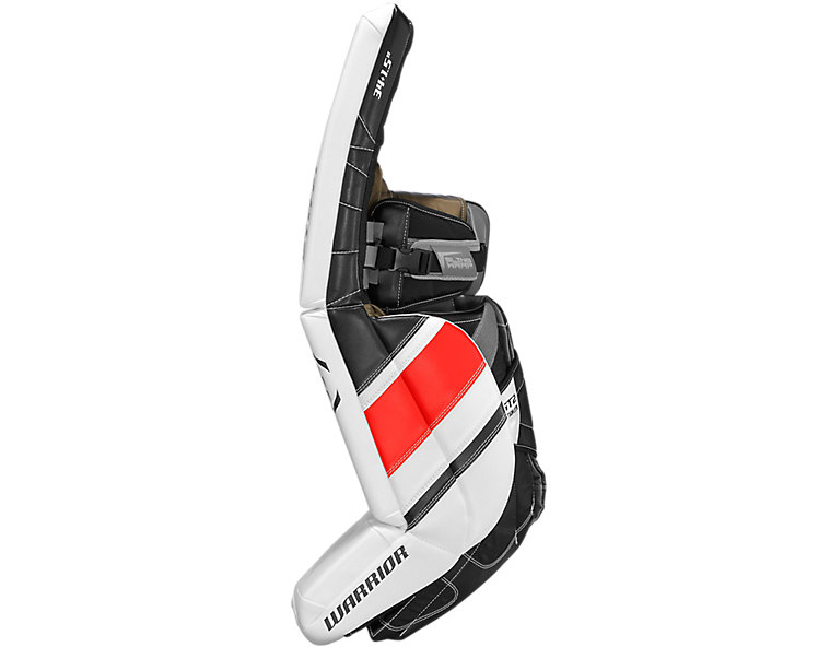 GT2 SR Leg Pad, White with Black & Red image number 3