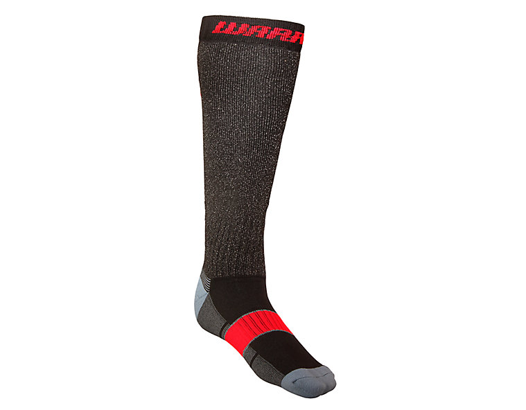 Cut Proof Sock, Black with Red image number 0