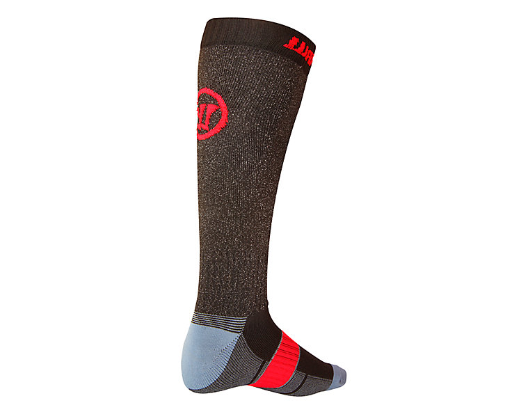 Cut Proof Sock, Black with Red image number 1