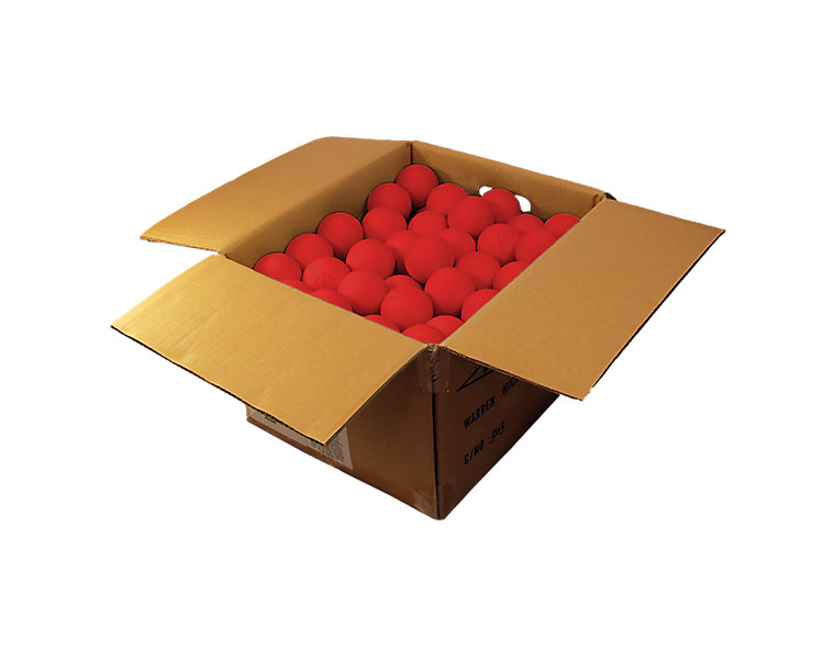Softball Indoor Case Balls, Red image number 0