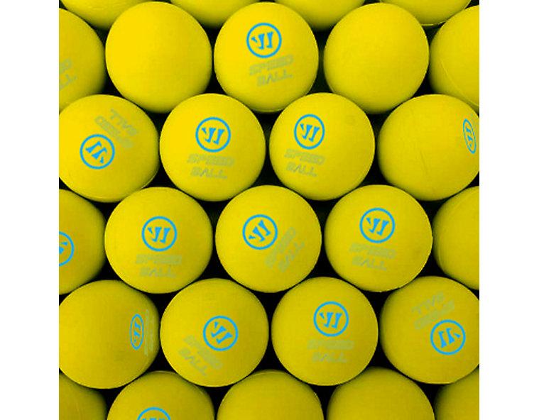 Mini Hockey Ball 60pk, Yellow image number 1