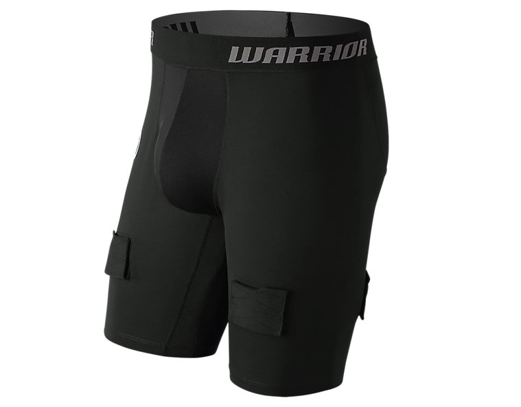 Hockey Comp Short w/ Cup, Black image number 0