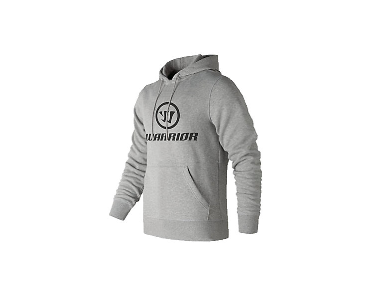 Warrior Corpo Stack Pullover Hoodie, Heather Charcoal image number 0