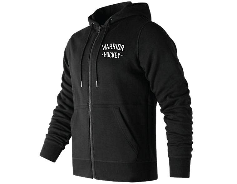 Warrior Street Hockey Zip Hoodie, Black image number 0
