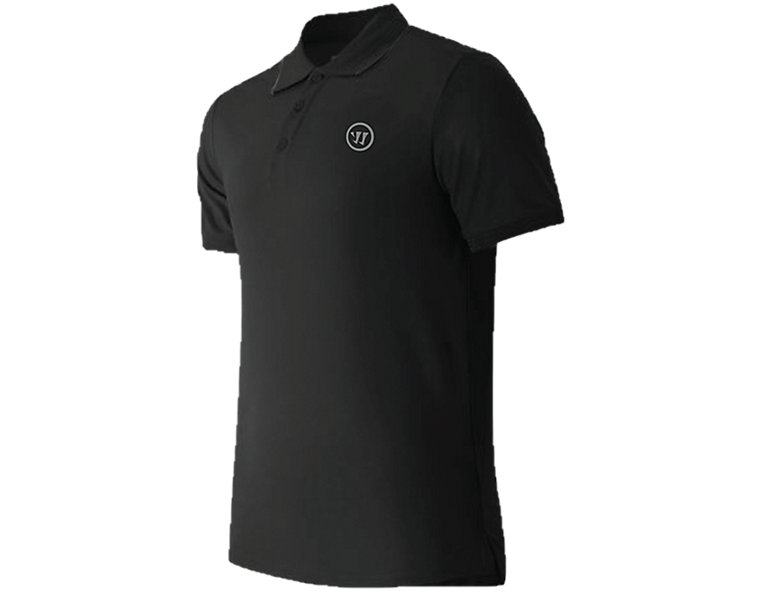 Warrior Corpo Stack Classic Polo, Black image number 2