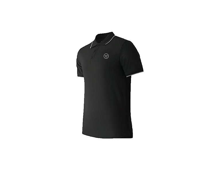 Warrior Corpo Stack Classic Polo, Black image number 0