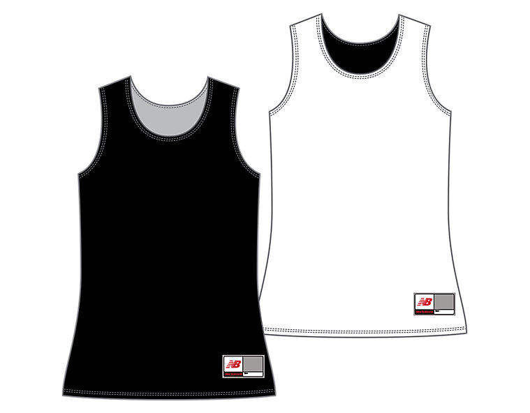 Women's Camp Pinnie, Black with White image number 0