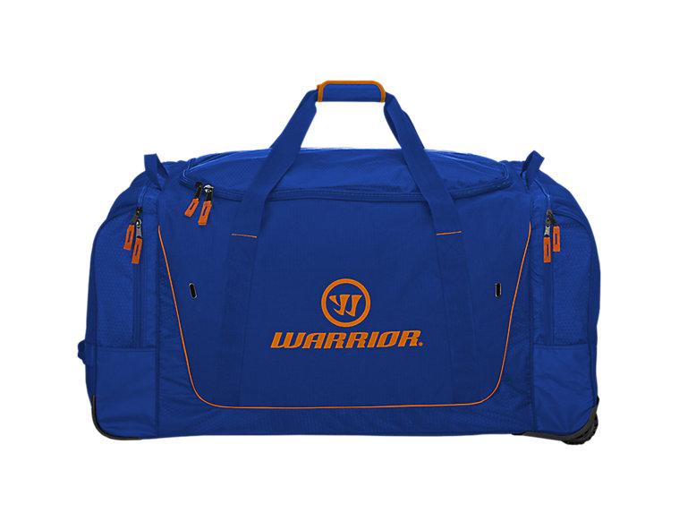 Q20 Cargo Roller Bag, Navy with Orange image number 0