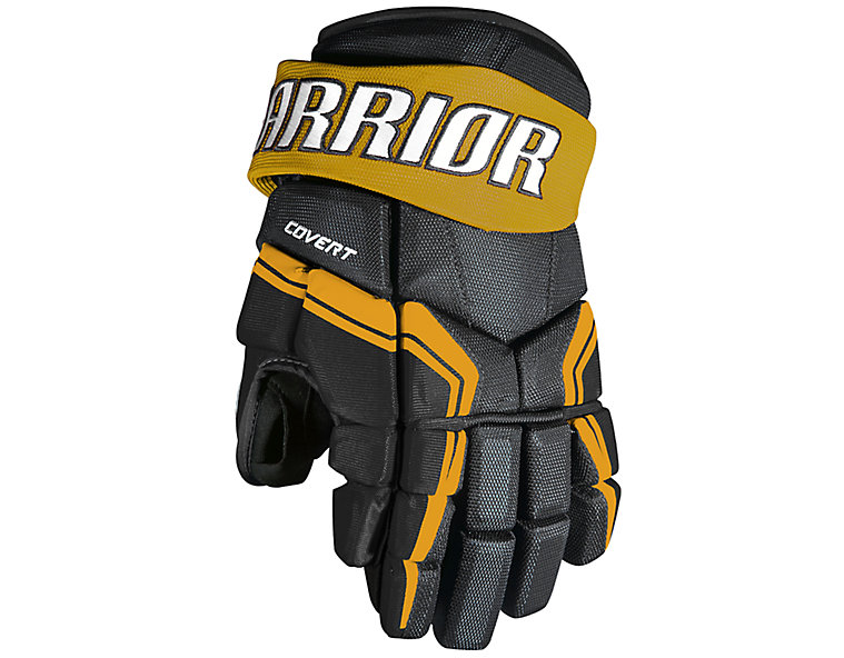 QRE3 SR Glove, Black with Sports Gold image number 0