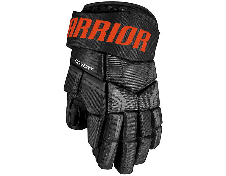 QRE4 SR Glove, Black with Orange image number 0