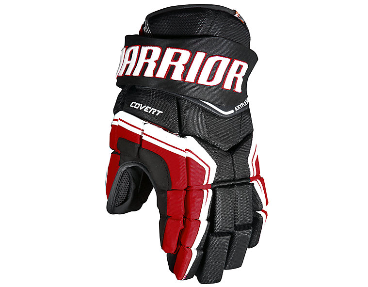 QRE YTH Glove, Black with Red & White image number 0