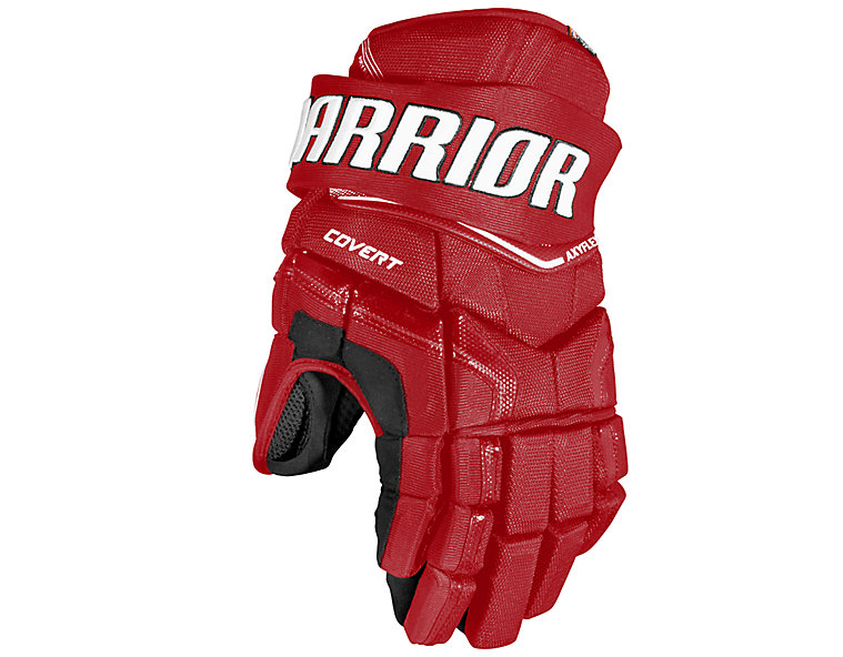 QRE YTH Glove, Red with White image number 0