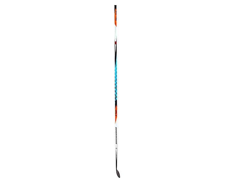 COVERT QRL4 SENIOR GRIP HOCKEY STICK, Black with Carolina Blue & Orange image number 2