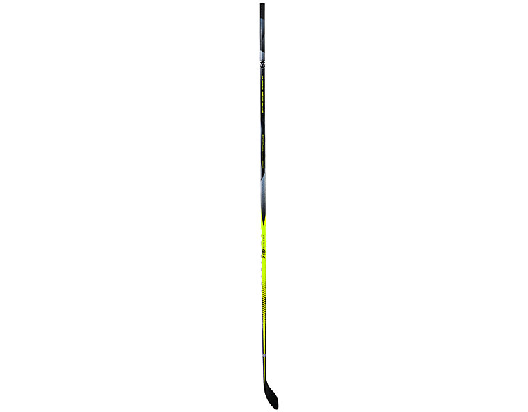 Alpha QX SR Grip, Black with Silver & Yellow image number 2
