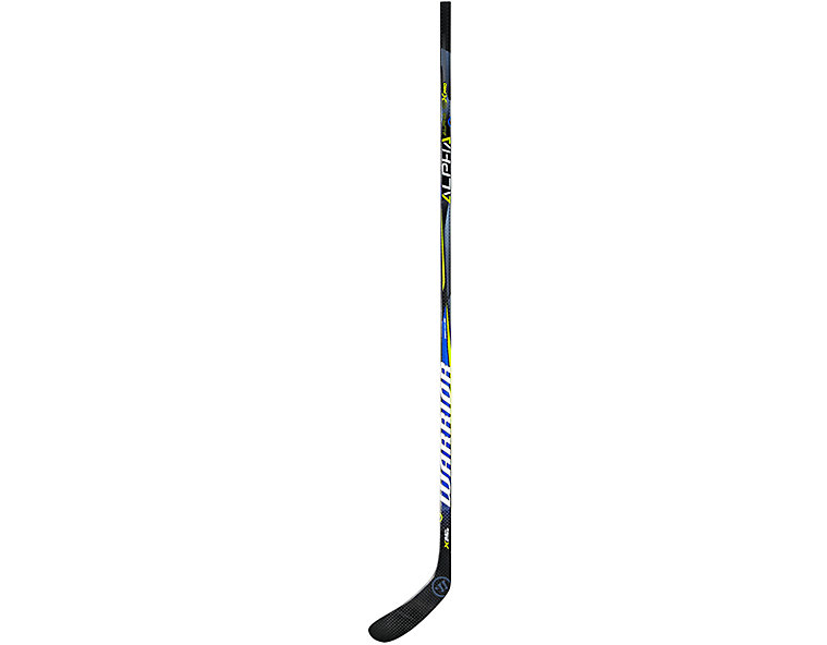 Alpha QX Pro INT Grip, Black with Blue & Yellow image number 1
