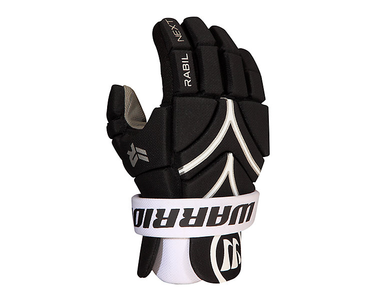 Rabil Next Glove (L/M), Black with White image number 0