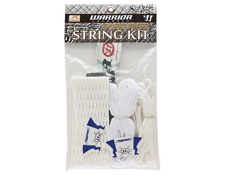 String Kit - Hard Mesh Players Pocket, White image number 0