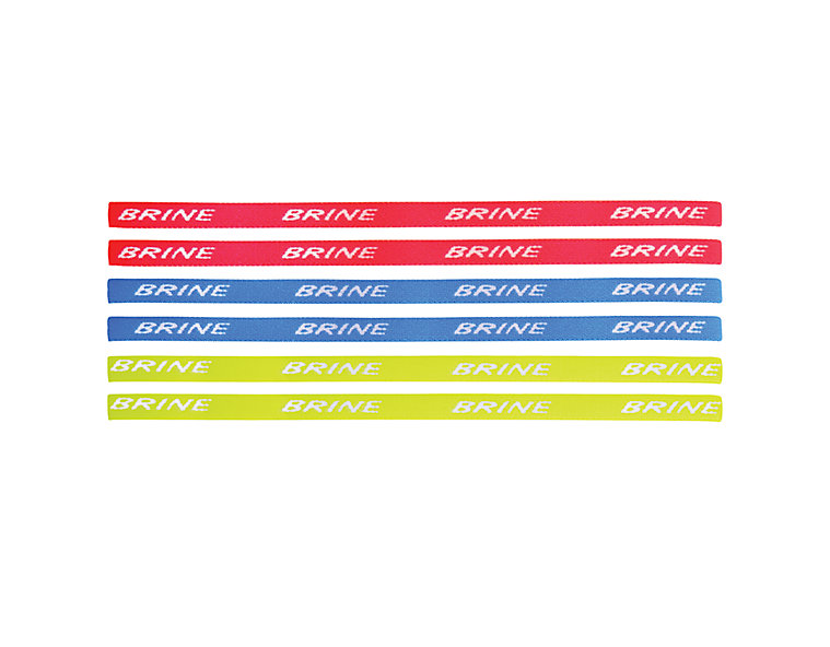Women's Headbands, Red with Blue & Yellow image number 0
