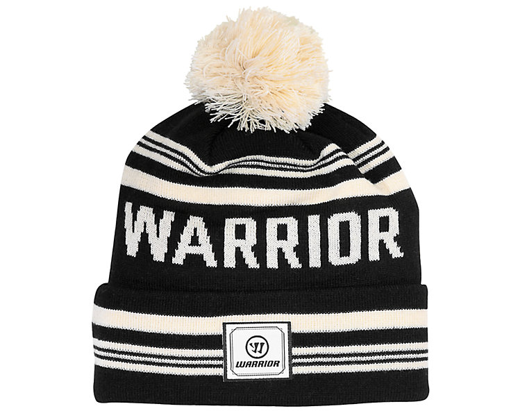 Warrior Classic Toque, Black with Natural image number 0