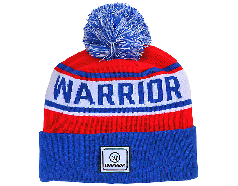 Warrior Classic Toque, Royal Blue with Red & White image number 0